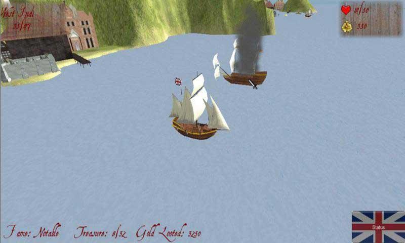 海盗船截图