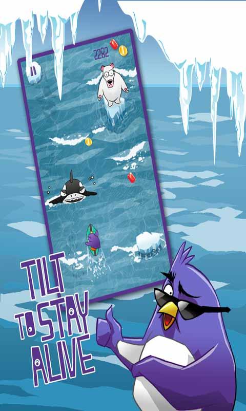 企鹅冲浪冒险截图