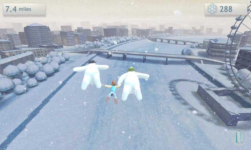雪人与雪犬截图