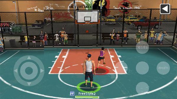 街头篮球2截图